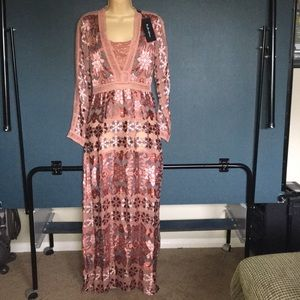 For love and lemons NWT Bohemian gown sz S